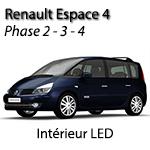 Renault Espace 4 phase 2 3 4 kit ampoules à Led P